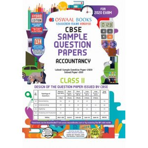 Oswaal CBSE Sample Question Paper Class 11 Accountancy Book (For March 2020 Exam)