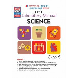Oswaal CBSE Laboratory Manual Class 6 Science Book (For March 2020 Exam)