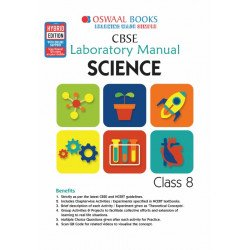 Oswaal CBSE Laboratory Manual Class 8 Science Book (For March 2020 Exam)