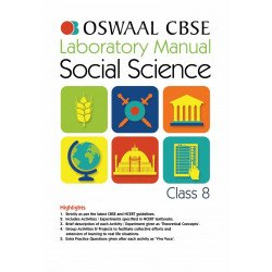 Oswaal CBSE Laboratory Manual Class 8 Social Science Book (For March 2020 Exam)
