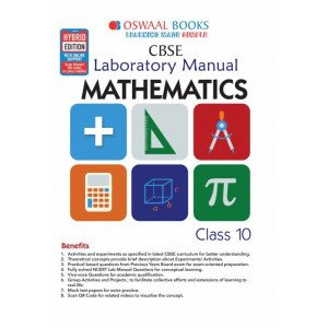 Oswaal CBSE Laboratory Manual Class 10 Mathematics Book (For March 2020 Exam)