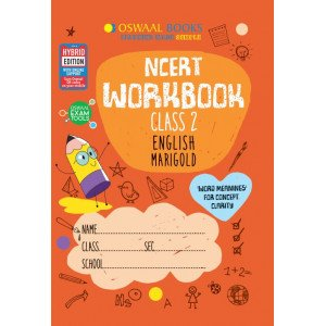 Oswaal NCERT Workbook Class 2 English Marigold Book
