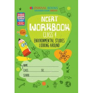 Oswaal NCERT Workbook Class 4 Environmental Studies Looking Around Book