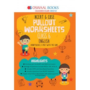 Oswaal NCERT & CBSE Pullout Worksheets Class 6 English Book (For March 2020 Exam)