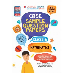 Oswaal CBSE Sample Question Papers Class 6 Mathematics Book (For March 2020 Exam)