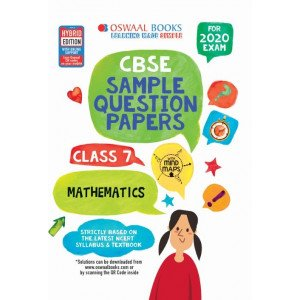 Oswaal CBSE Sample Question Papers Class 7 Mathematics Book (For March 2020 Exam)