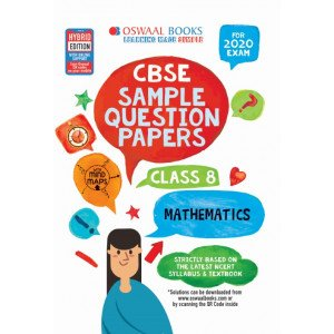 Oswaal CBSE Sample Question Papers Class 8 Mathematics Book (For March 2020 Exam)