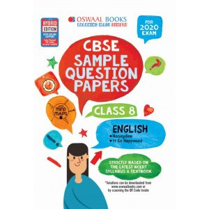 Oswaal CBSE Sample Question Papers Class 8 English Book (For March 2020 Exam)