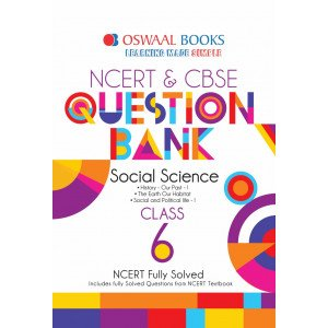 Oswaal NCERT & CBSE Question Bank Class 6 Social Science Book (For March 2020 Exam)