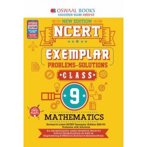 Oswaal NCERT Exemplar (Problems - solutions) Class 9 Mathematics Book (For March 2020 Exam)