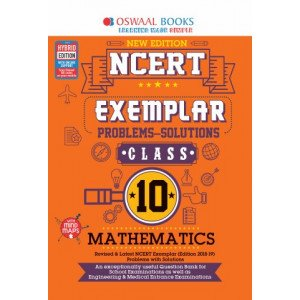 Oswaal NCERT Exemplar (Problems - solutions) Class 10 Mathematics Book (For March 2020 Exam)