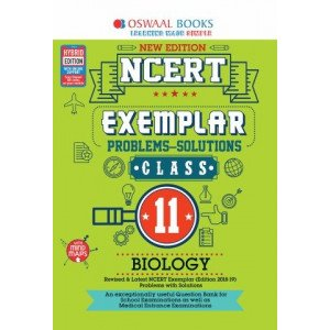 Oswaal NCERT Exemplar (Problems - solutions) Class 11 Biology Book (For March 2020 Exam)