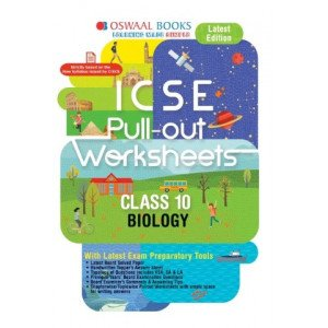 Oswaal ICSE Pullout Worksheet Class 10 Biology Book (For March 2020 Exam)