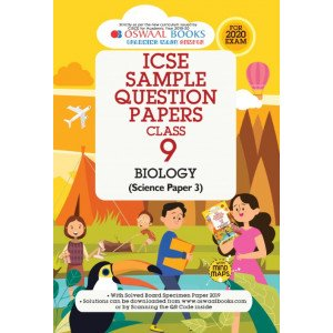 Oswaal ICSE Sample Question Papers Class 9 Biology Book (For March 2020 Exam)