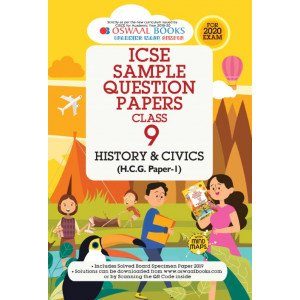 Oswaal ICSE Sample Question Papers Class 9 History & Civics Book (For March 2020 Exam)