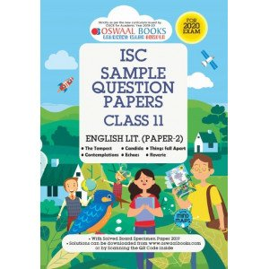 Oswaal ISC Sample Question Paper Class 11 English Paper 2 Literature Book (For 2020 Exam)