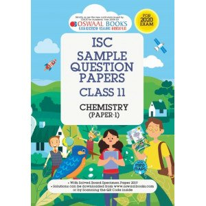 Oswaal ISC Sample Question Paper Class 11 Chemistry Book (For 2020 Exam)