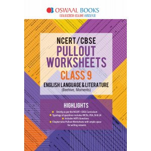 Oswaal NCERT & CBSE Pullout Worksheets Class 9 English Language and Literature Book (For March 2020 Exam)