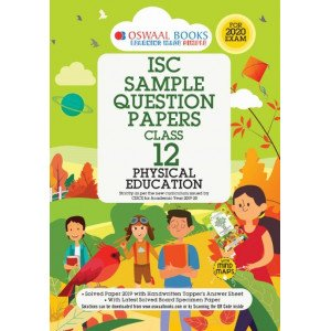 Oswaal ISC Sample Question Papers Class 12 Physical Education Book (For 2020 Exam)