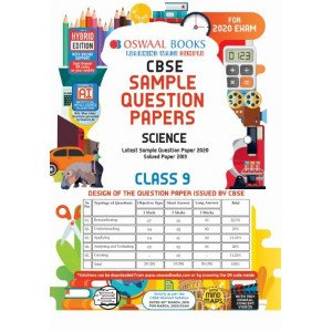 Oswaal CBSE Sample Question Paper Class 9 Science Book (For March 2020 Exam)