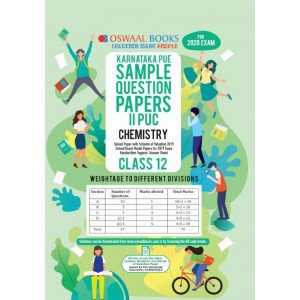 Oswaal Karnataka PUE Sample Question Papers II PUC Class 12 Chemistry Book (March 2020 Exam)