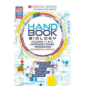 Oswaal Handbook Biology For Entrance Exams Preparation and Classes 11 & 12