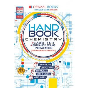 Oswaal Handbook Chemistry For Entrance Exams Preparation and Classes 11 & 12