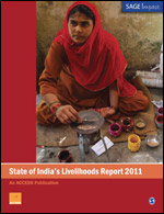 State of India's Livelihoods Report 2011 - Paperback , English