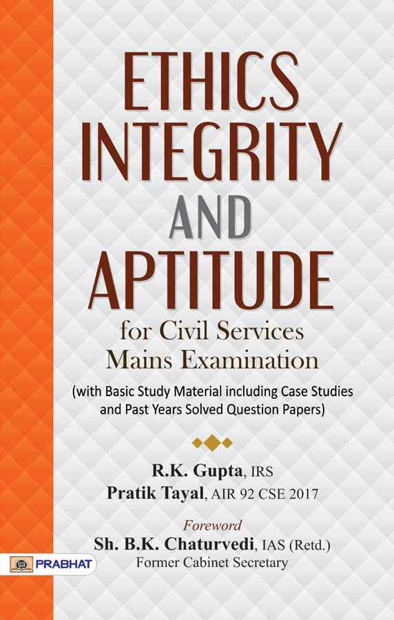 Ethics, Integrity and Aptitude - Paperback