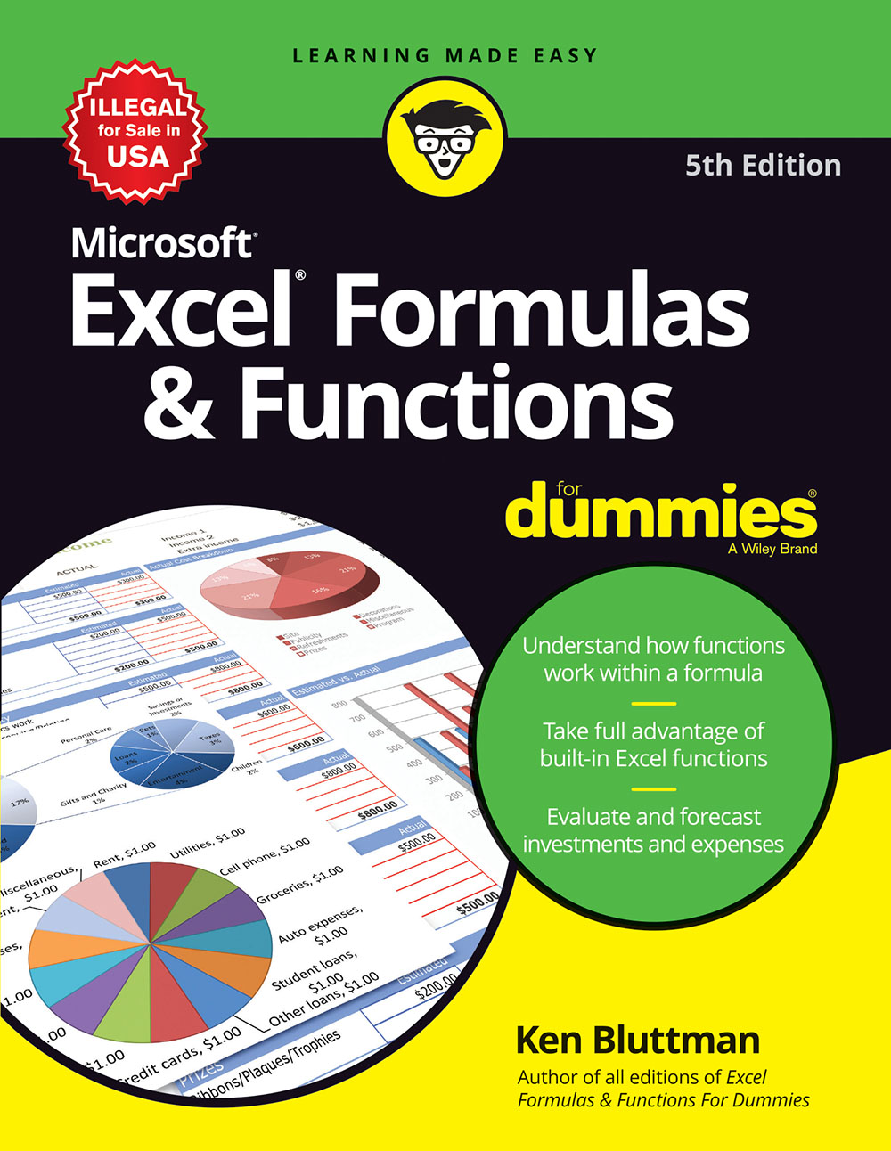 Microsoft Excel Formulas & Functions For Dummies, 5ed