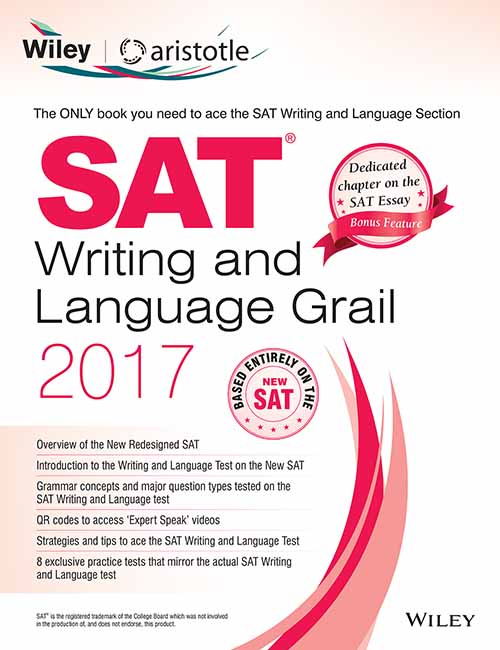 Wiley's SAT Writing and Language Grail 2017