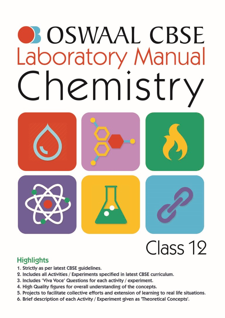 Oswaal CBSE Laboratory Manual Class 12 Chemistry Book (For March 2020 Exam)