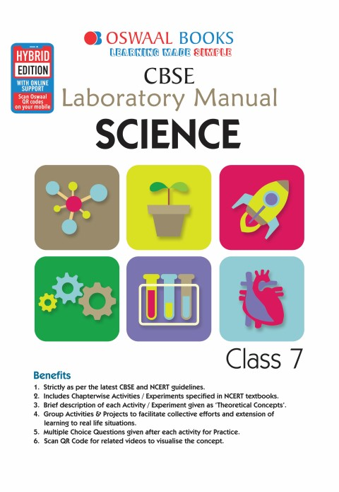 Oswaal CBSE Laboratory Manual Class 7 Science Book (For March 2020 Exam)