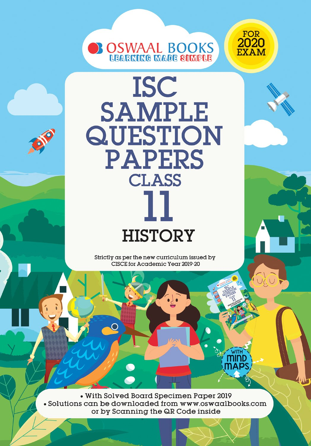 Oswaal ISC Sample Question Paper Class 11 History Book (For 2020 Exam)