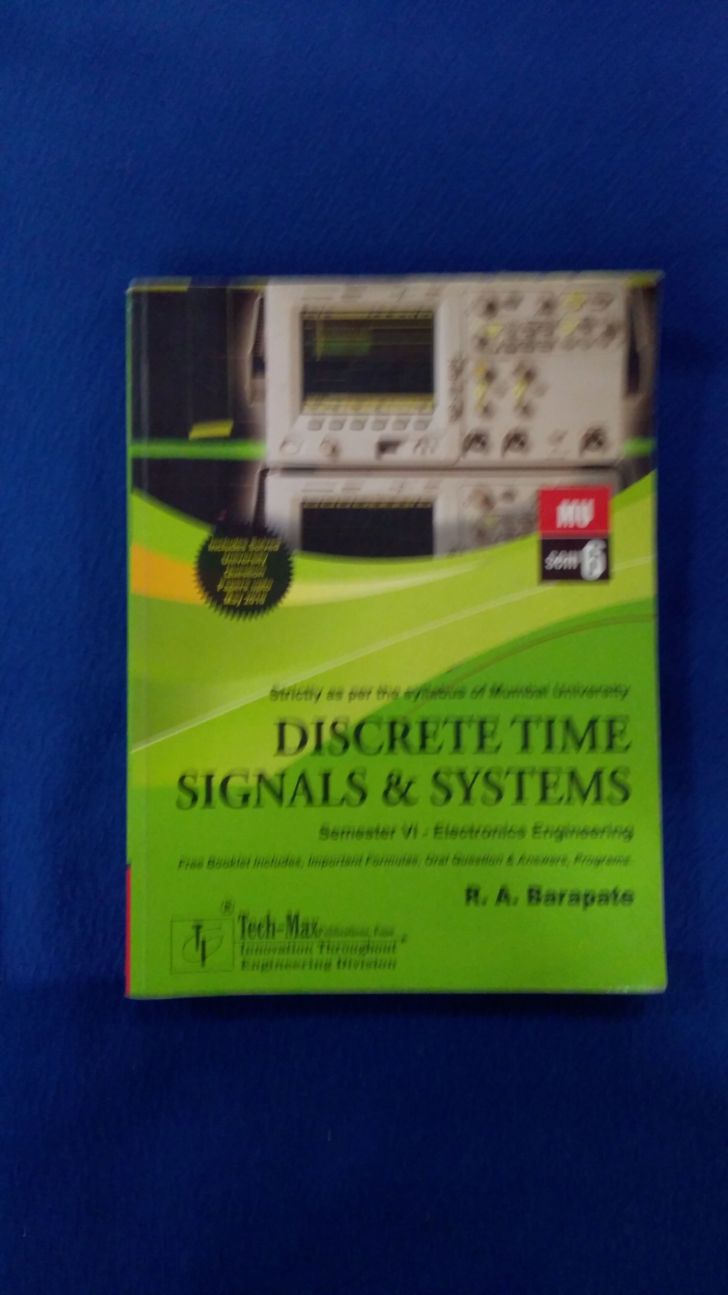 Discrete Time Signals and Systems.c