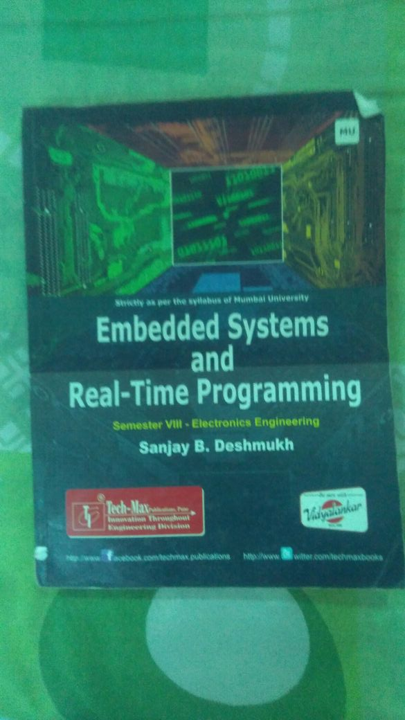 Embedded Systems and real-Time Programming.